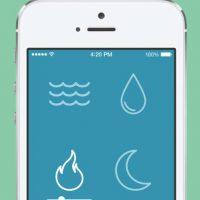 Disponible para iOS por un dólar con 99 centavos Foto:Noisli