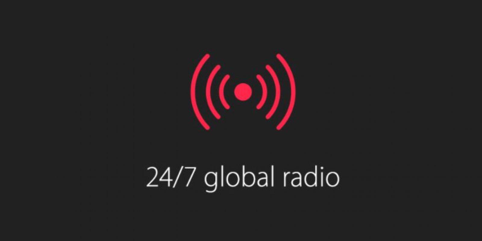 2) Radio las 24 horas del día y los siete días de la semana Foto:Apple