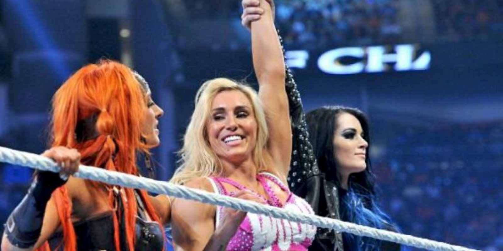 En el Campeonato de Divas, Charlotte retó a la monarca Nikki Bella. Foto:WWE.com