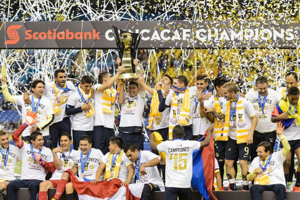 América de México es el campeón de la zona e irá a Japón. Foto:Getty Images