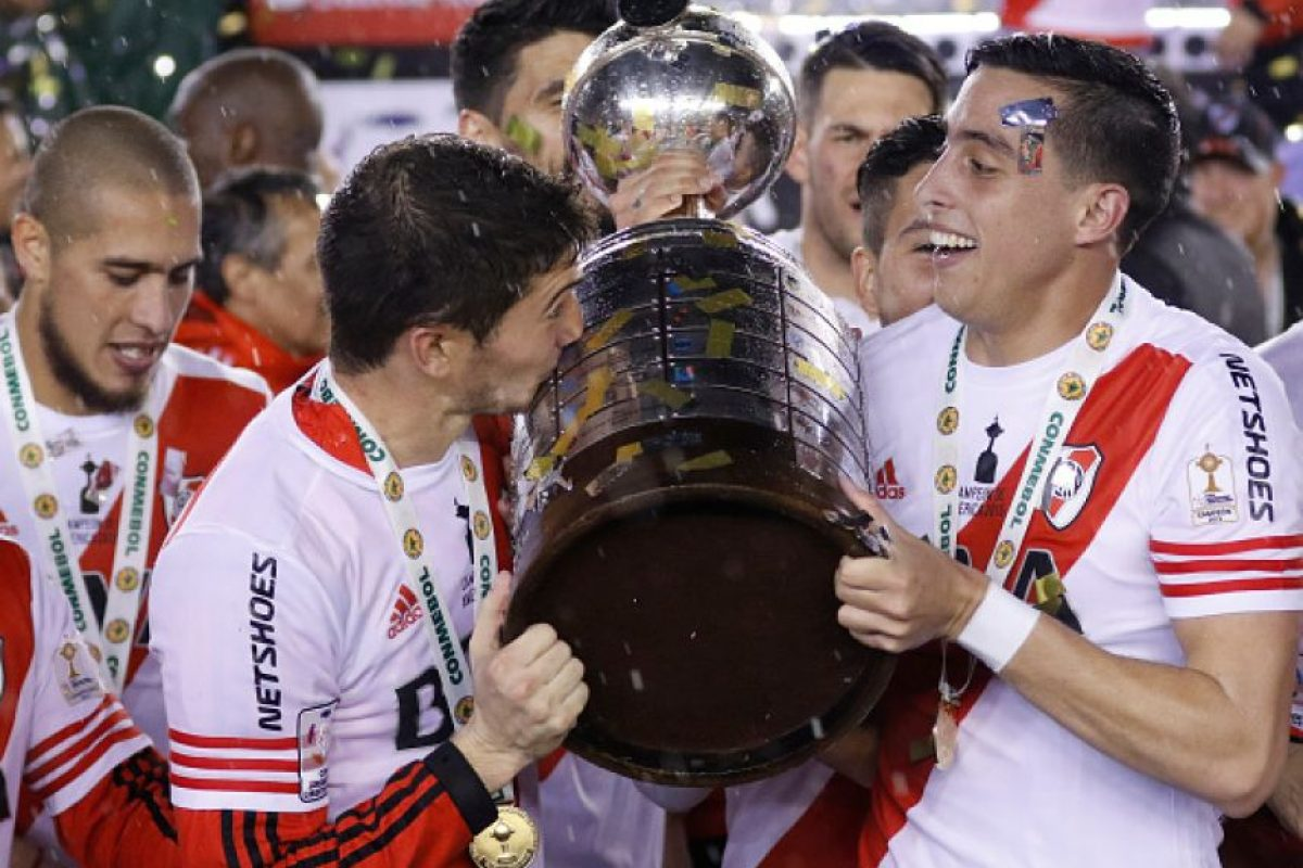 Su representante es River Plate, campeón de la Copa Libertadores 2015. Foto:Getty Images