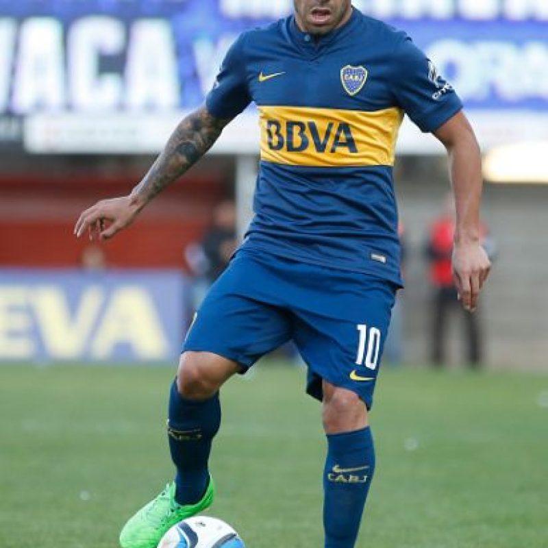 5. Carlos Tévez Foto:Getty Images