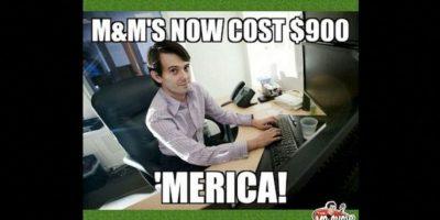 """""""Los M&M's ahora cuestan 900 dólares… ¡Estados Unidos!"""" Foto:Instagram.com – Archivo"""