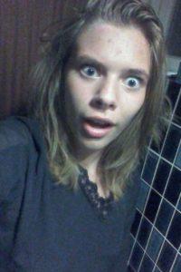 Y como el cantante es muy expresiva Foto:vía twitter.com/NinaSkovJensen1