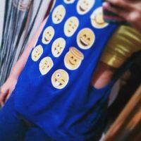 Camiseta. Foto:instagram.com/lizeet_rodriguez