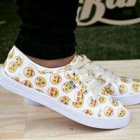 Zapatos deportivos. Foto:instagram.com/willd_rude_girl