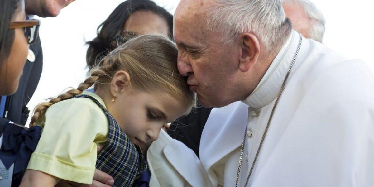 Llega el papa Francisco a Nueva York