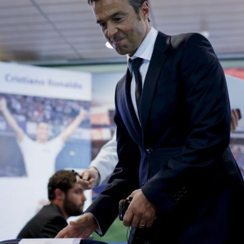 2. Jorge Mendes (fútbol) Foto:Getty Images