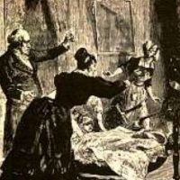 """""""Espíritus burlones"""", según la creencia popular. Foto:vía Wikipedia"""