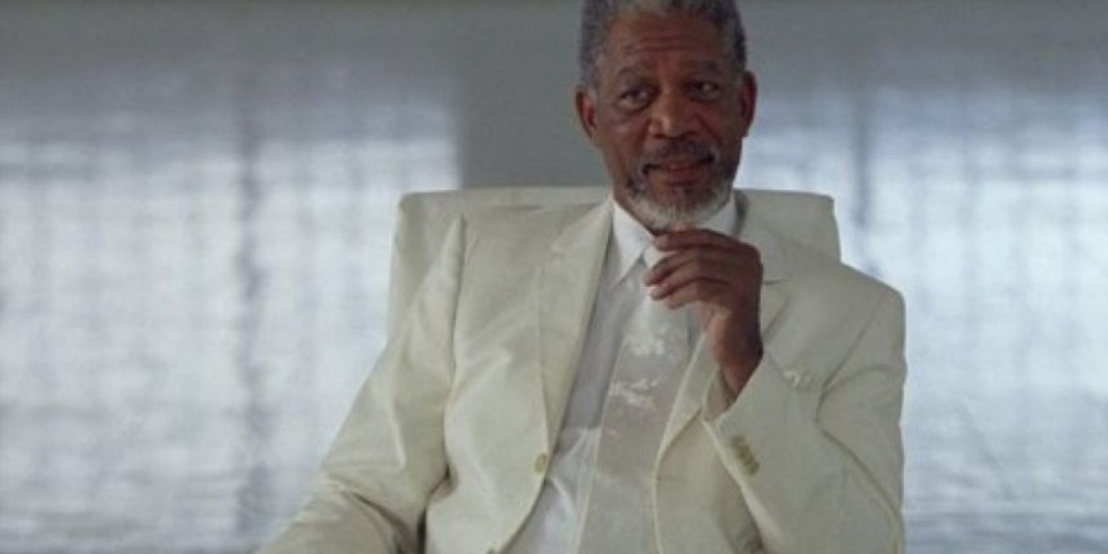 """Morgan Freeman se ha hecho muy popular por sus papeles de presidente o de """"Dios"""" en """"Todopoderoso"""". Foto:vía Universal Pictures"""