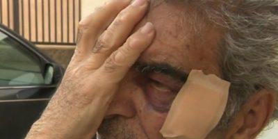 Joven golpeó a un anciano que se atrevió a regañarlo por tomar muestras de Nutella