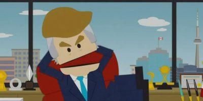 El magnate tiene 69 años. Foto:Captura de pantalla Comedy Central