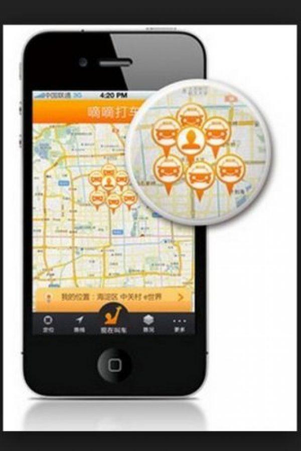 """App parecida a Uber, servicio de taxis individual Foto:Vía """"9To5Mac"""""""