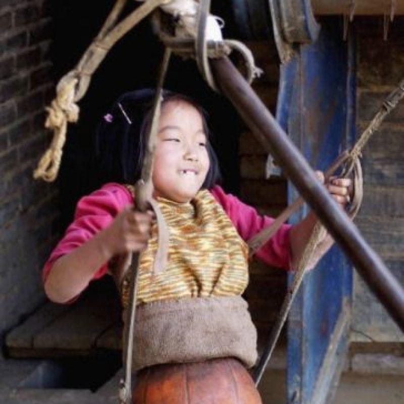 Pues la pequeña Qian comenzó a enfocarse en natación y ha ganado varias medallas de oro en China. Foto:Getty Images