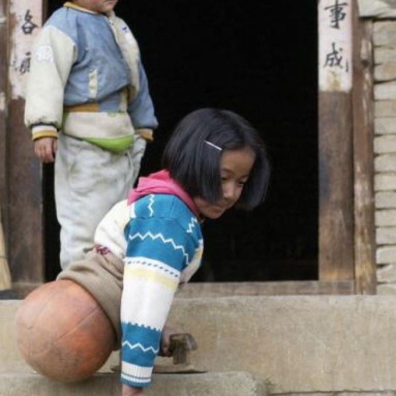 En 2005 ganó popularidad al ser fotografiada sobre un balón de basquetbol. Foto:Getty Images