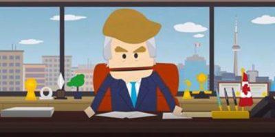 Es el precandidato más apoyado del Partido Republicano. Foto:Captura de pantalla Comedy Central