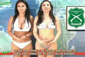 """Ellas son presentadoras de noticias en """"Canak10.cl"""" Foto:Vía Youtube"""