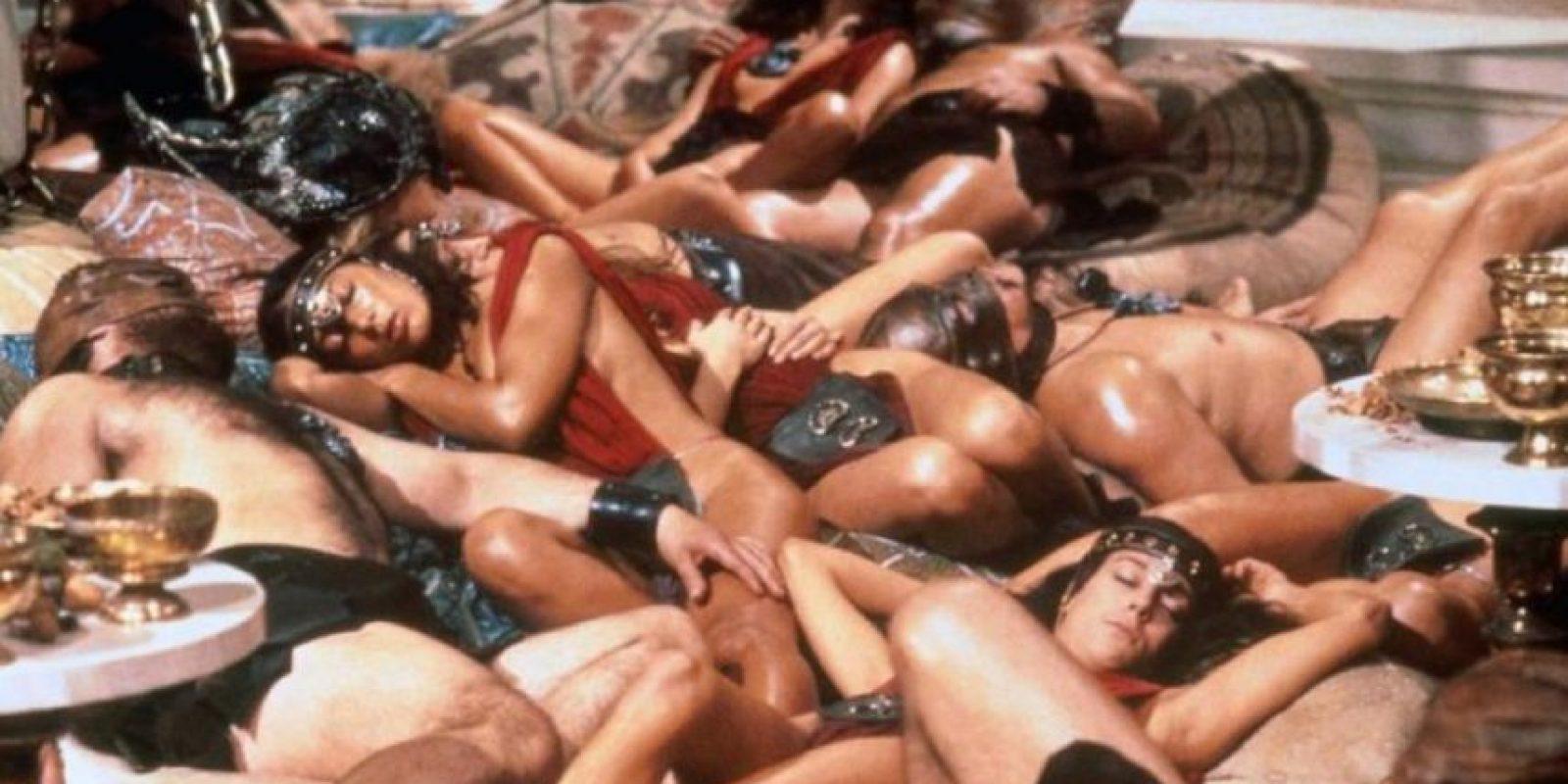 Hacía orgías con desnudistas, pues le gustaban también las mujeres. Foto:vía Tumblr