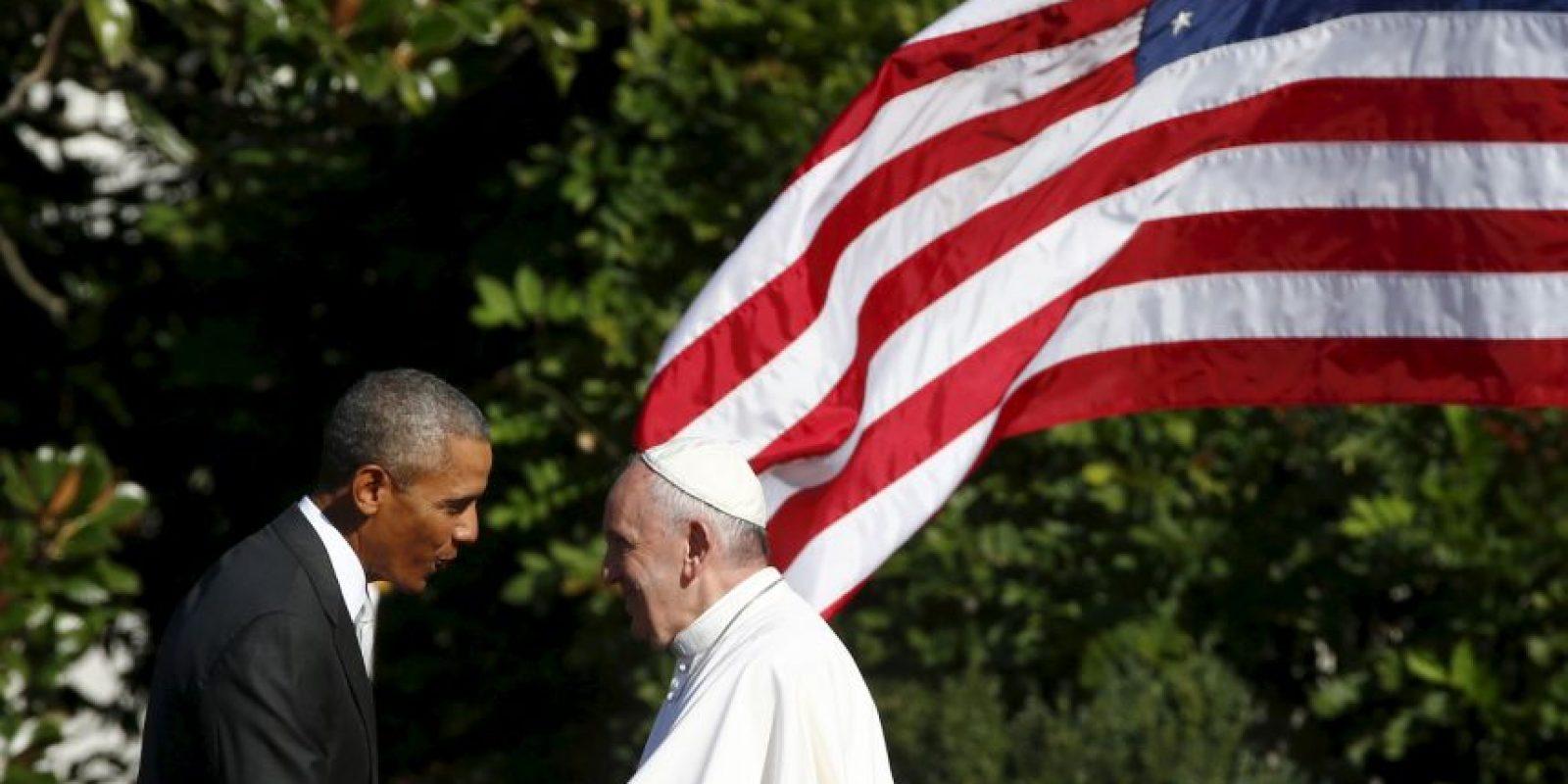 Su ceremonia de bienvenida oficial ocurrió el miércoles en la Casa Blanca. Foto:AFP