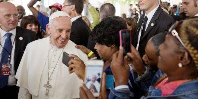 """""""El Papa de los selfies"""": Así se deja querer el Papa Francisco en Nueva York"""