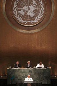 Y pronunció un histórico discurso Foto:AFP