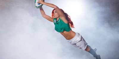 Becky Lynch apoya a Irlanda, el país donde nació Foto:WWE