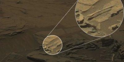 """Descubren una """"cuchara flotante"""" en Marte Foto:NASA"""