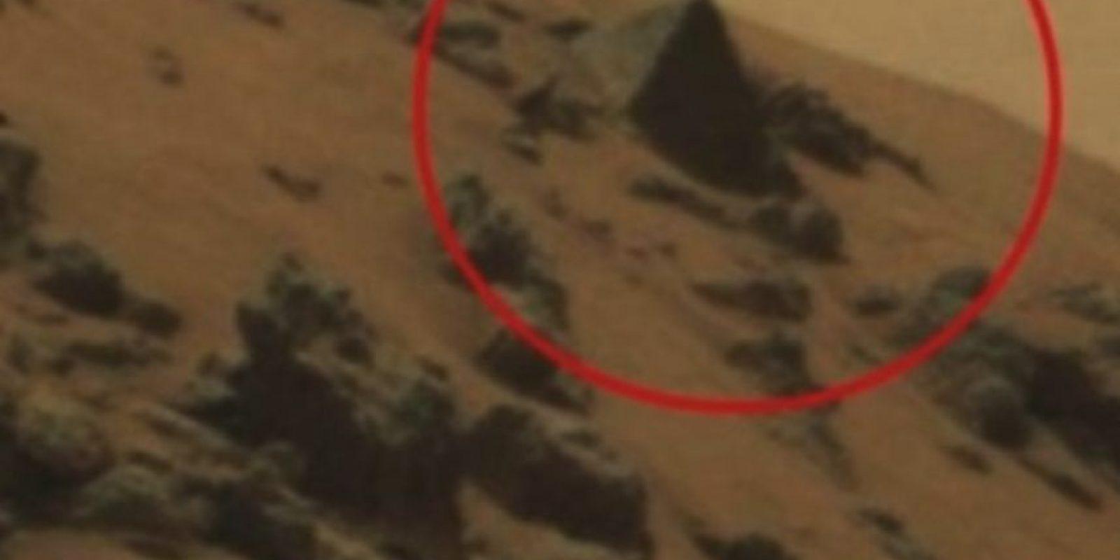 Pirámide Egipcia Foto:NASA