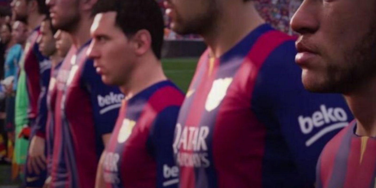 Como Messi en su mejor momento, pueden pasar el balón y crearse espacios para burlar a la defensa y recibir el esférico para anotar el gol de la victoria. Foto:EA Sports
