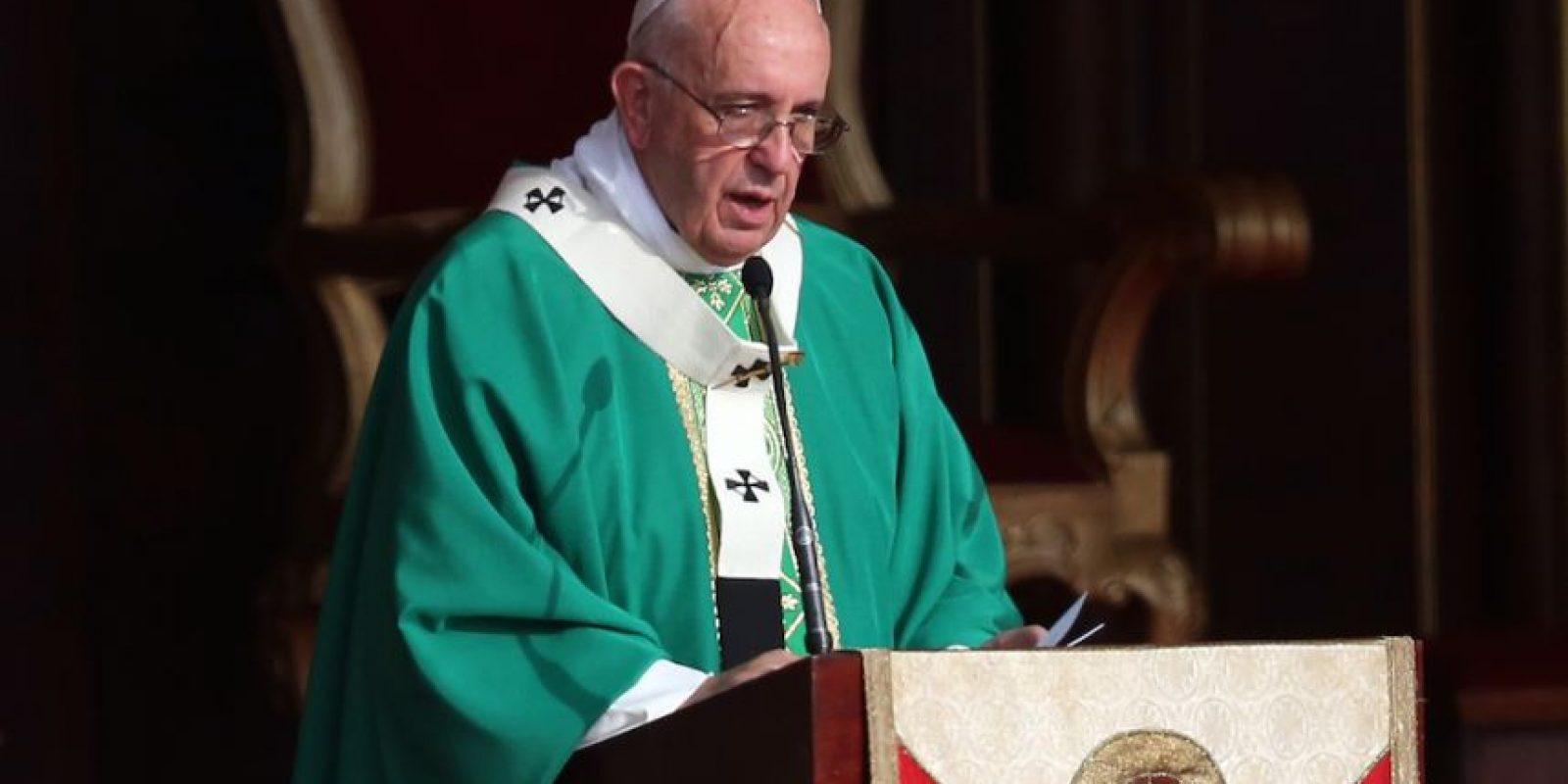El papa Francisco pasó por Washington, ahora está en Nueva York e irá a Filadelfia. Foto:Getty Images
