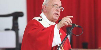 El Papa visitó este viernes la Organización de las Naciones Unidas en nueva York. Foto:Getty Images