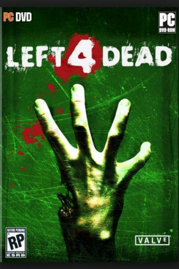 """""""Left 4 Dead"""" es un título de disparos en primera persona donde los zombies son el enemigo y deben ser eliminados. La semejanza entre película y juego es mucha Foto:Turtle Rock Studios"""