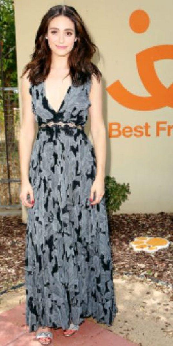 Emmy Rosum. Foto:vía Getty Images