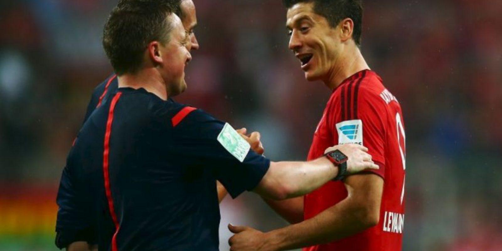 Le dio el triunfo 5-1 al Bayern Múnich sobre el Wolfsburgo Foto:Getty Images