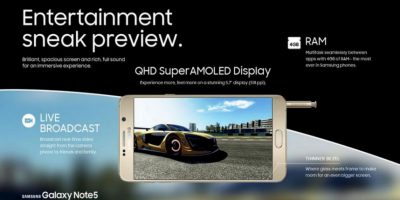 4GB de RAM y acoplamiento de videos con el borde curvo Foto:SamsungSamsung