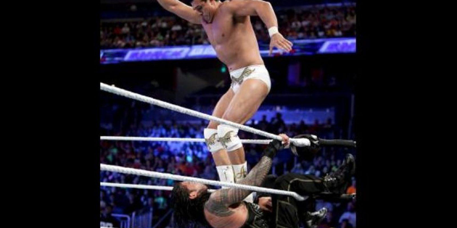 Del Río peleó de 2001 a 2010 en las artes marciales mixtas Foto:WWE