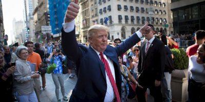Fotos: Así Donald Trump le dio la