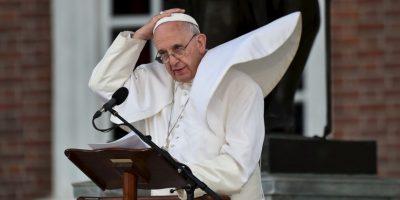 El Papa siempre tata de guardar la paciencia… Foto:AFP