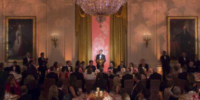 En los invitados se incluyeron funcionarios internacionales y algunas personalidades de Hollywood Foto:AFP
