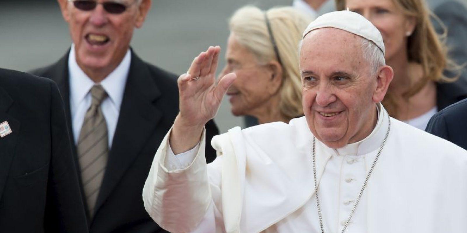 El Papa tiene una agenda ajetreada para estos dos últimos días en Estados Unidos. Foto:AFP