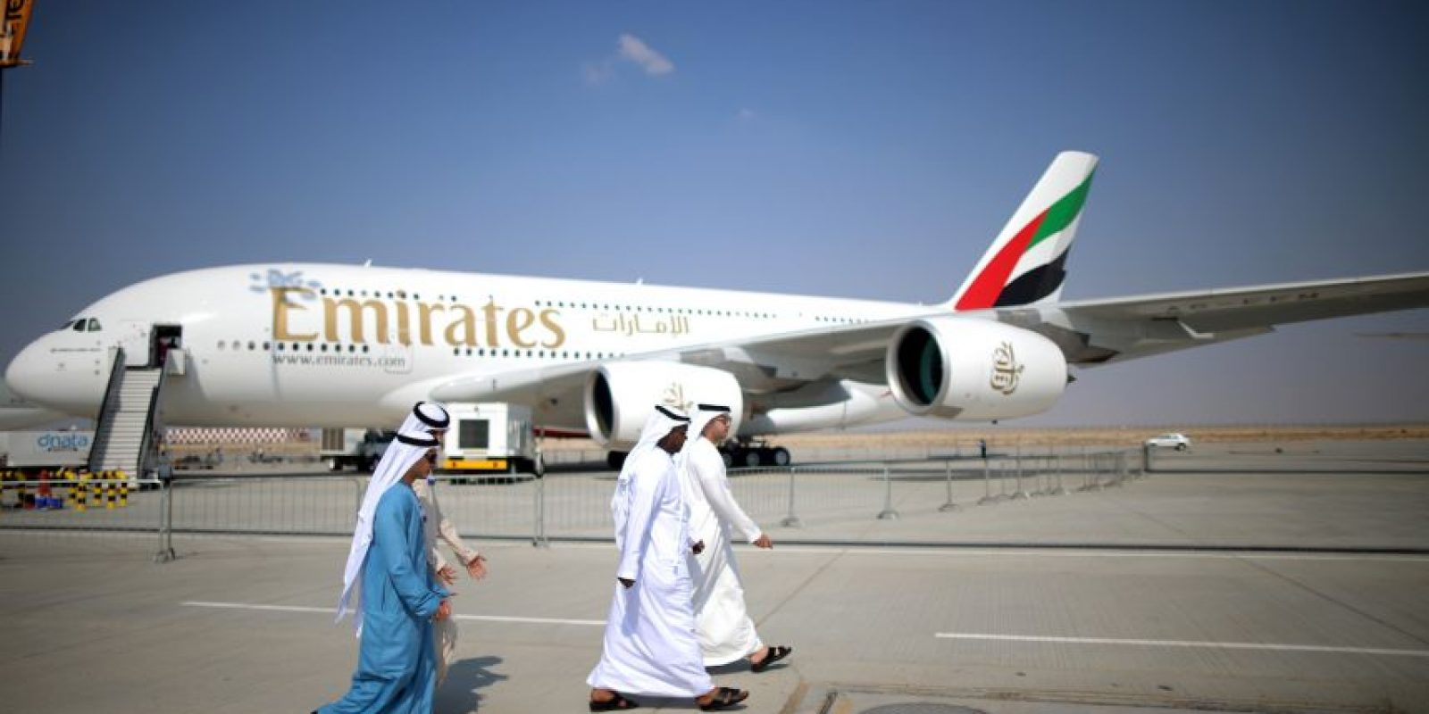 Las empresas que son dueñas de este avión incluyen compañías europeas y asiáticas. Foto:Getty Images