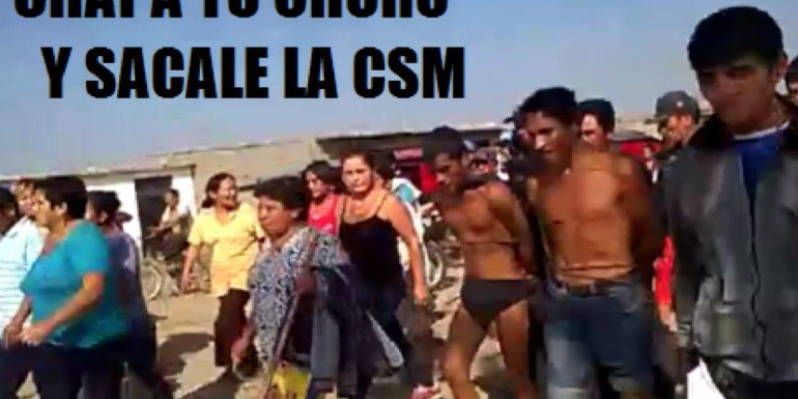 Ante la ineficiencia policial, en Perú están surgiendo campañas en la web que invitan a linchar a los delincuentes. Foto:vía Facebook/Chapa tu Choro
