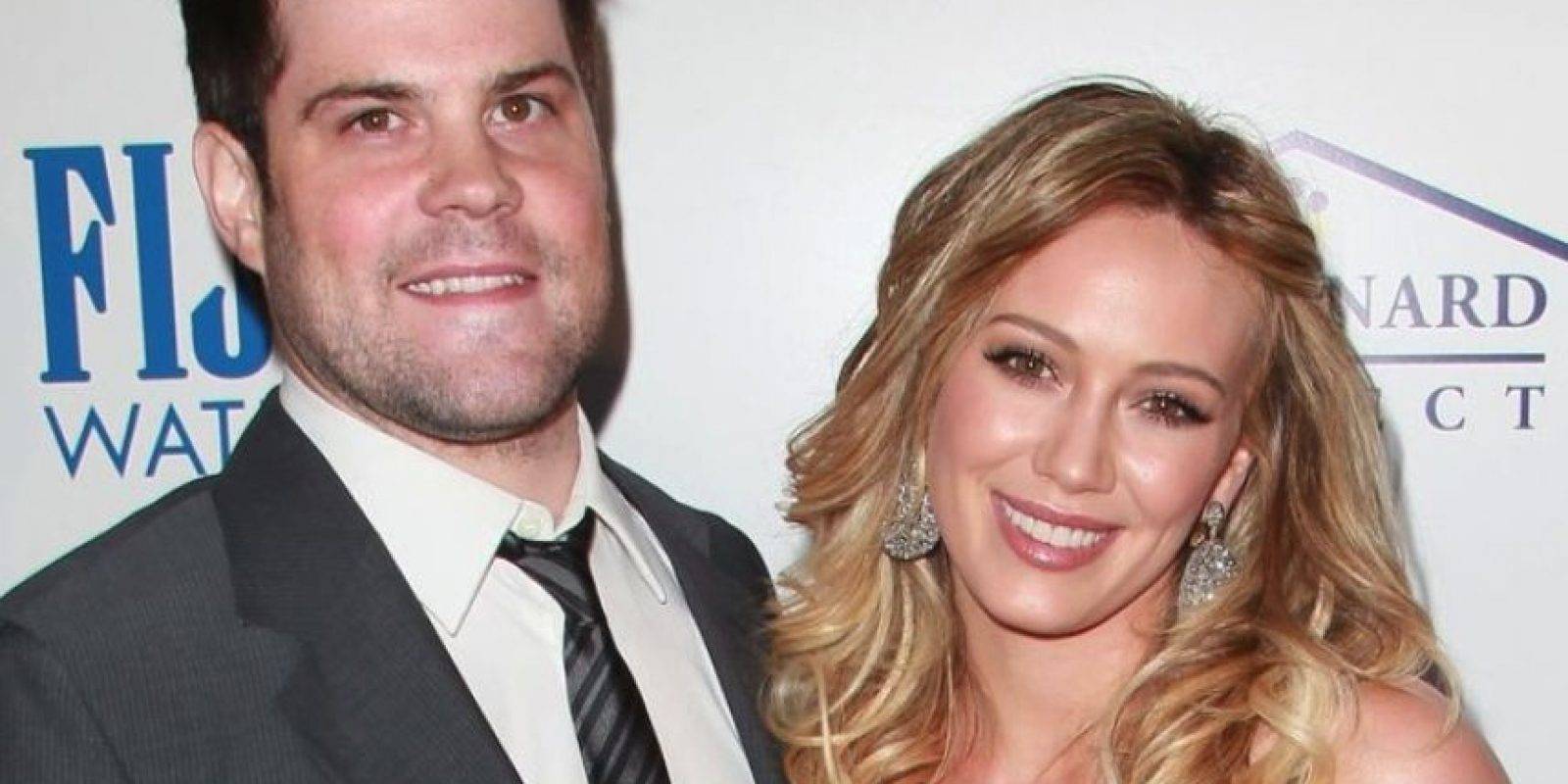Hilary Duff y Mike Comrie Foto: Getty Images