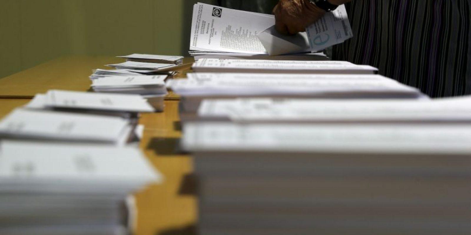 Más de cinco millones de catalanes fueron llamados a votar. Foto:AFP