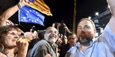 Independentistas ganan votaciones en Cataluña