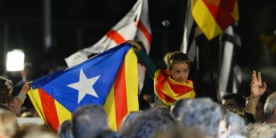 """La coalición de izquierdas """"Sí se puede"""", a sido el ganador de más escaños. Foto:AFP"""