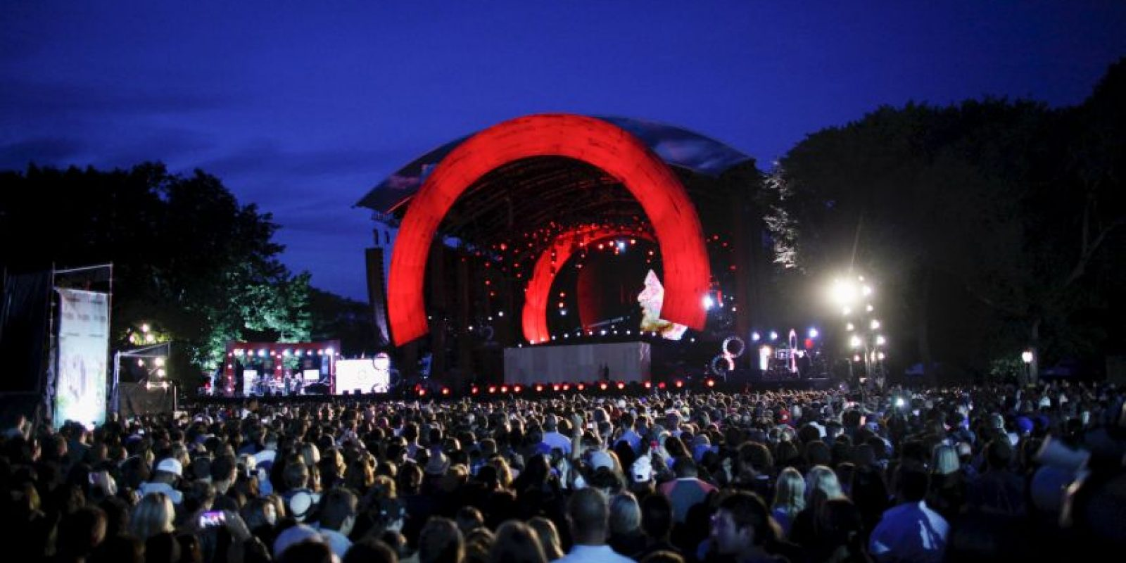 El festival Global Citizen se llevó a cabo en Central Park de Nueva York. Foto: Getty Images