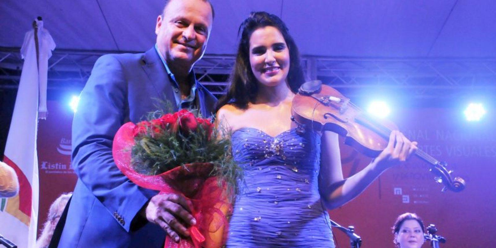 Gustavo de Hostos y Aysha Syed Foto:Alfredo García
