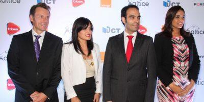 Olivier Reale, Liza Arzeno, Abdelhakim Boubazine y Mirna Eusebio Foto:Fuente externa