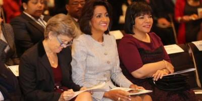 Primera dama se reúne con la directora ejecutiva adjunta de Unicef